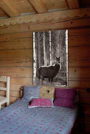tableau sur mesure cerf artiste peintre d coratrice grenoble. Black Bedroom Furniture Sets. Home Design Ideas