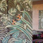 Projets Déco Triptyque jardin tropical