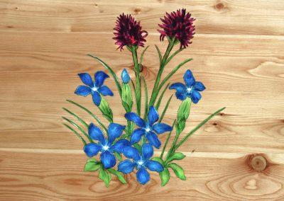 Gentiane Bouquet